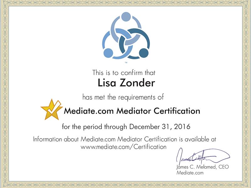 Certified Mediator Los Angeles